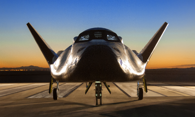 Dream Chaser at Dryden c NASA