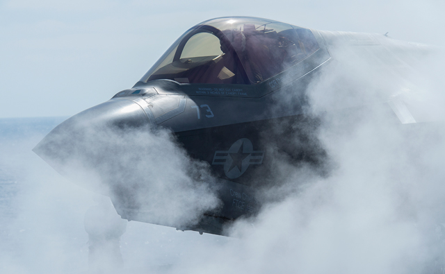 F-35C sea trials