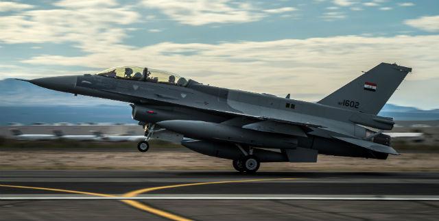 Iraqi F-16D - USAF