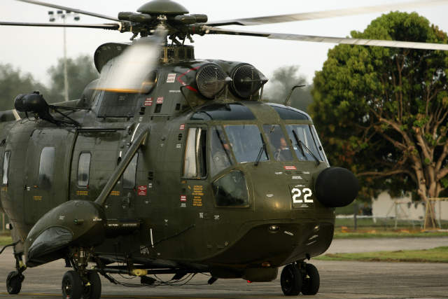 Malaysian S-61 - Commonwealth of Australia