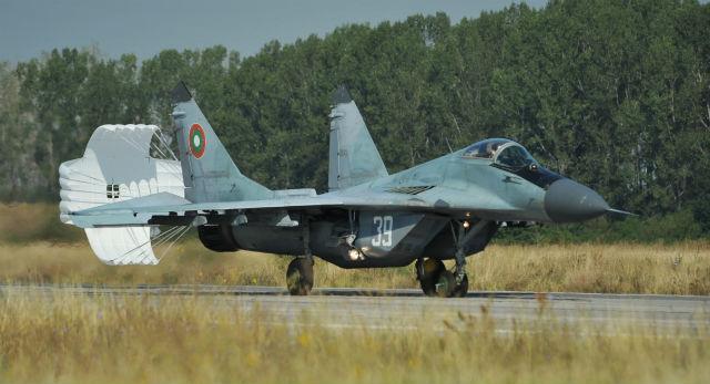 MiG-29 Bulgaria - USAF
