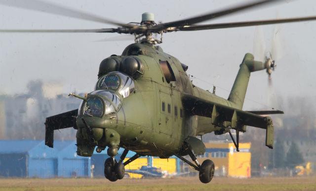 Polish Mi-24 - AirTeamImages