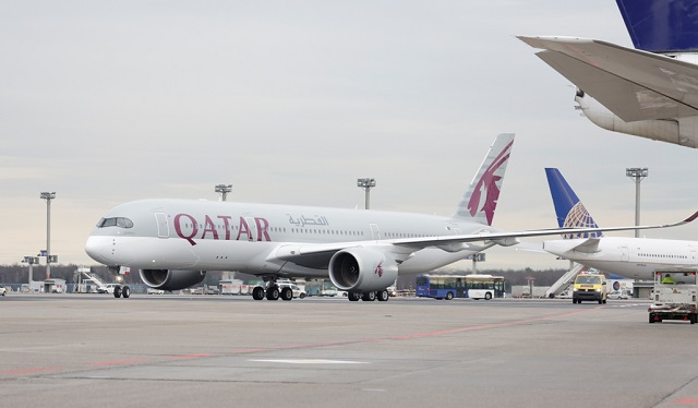 qr A350 FRA