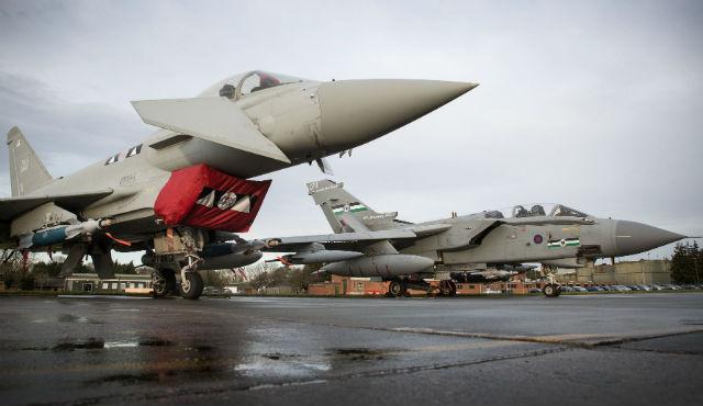 RAF Typhoon Tornado - Crown Copyright