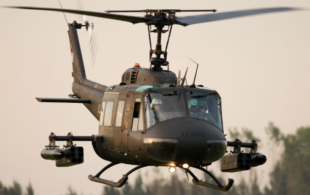 US Army UH-60 - US Air Force