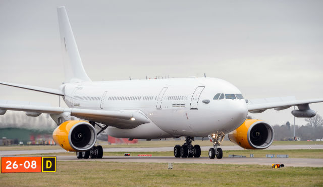 AirTanker for Thomas Cook - Crown Copyright
