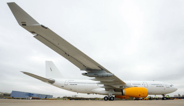 AirTanker for Thomas Cook wide - Crown Copyright