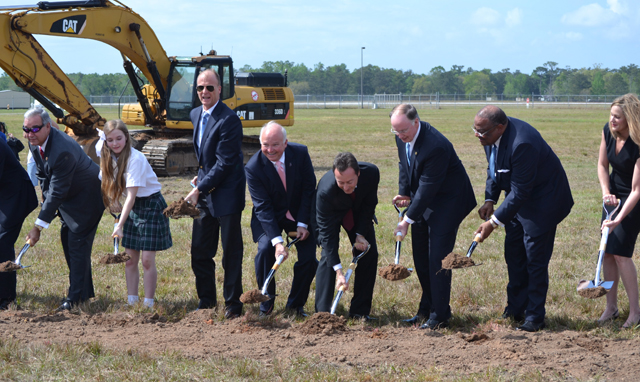 Breaking ground at mobile - Airbus
