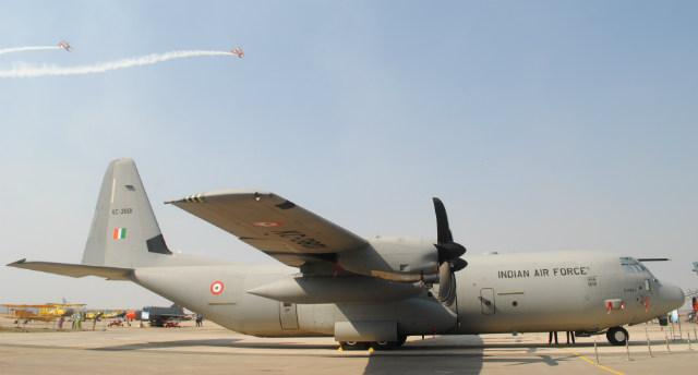 C-130J India - Aaron Chong
