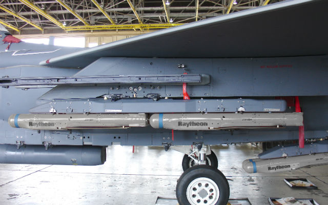 F-15E - SDB II - Raytheon