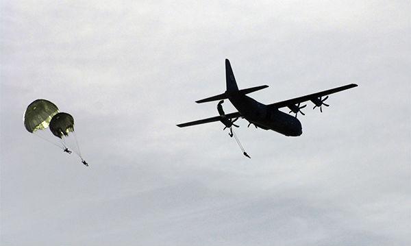 Israel C-130J drop