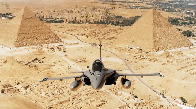 Rafale Egypt - Dassault