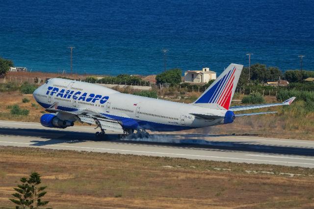 Transaero 747 c ATI