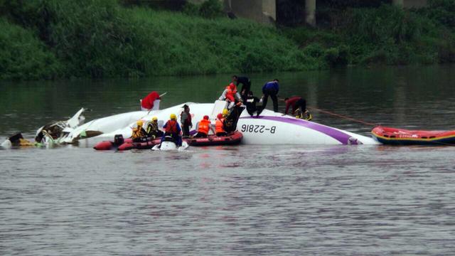 TransAsia crash wreck