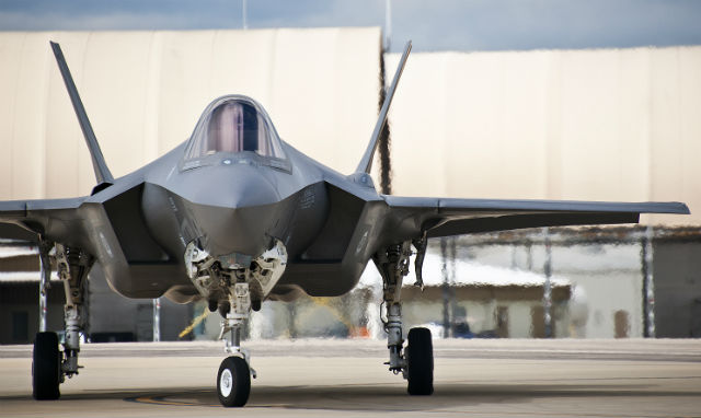 USAF F-35A - US Air Force