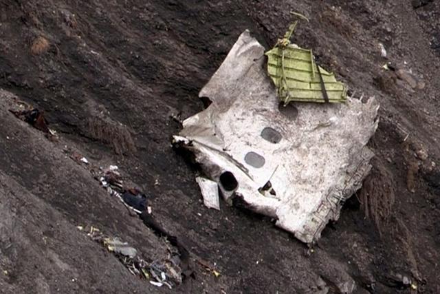 Germanwings debris