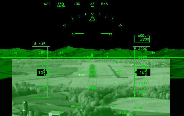 Helicopter ClearVision - Elbit Systems