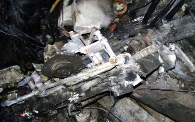 MQ-1 crash Syria - SANA