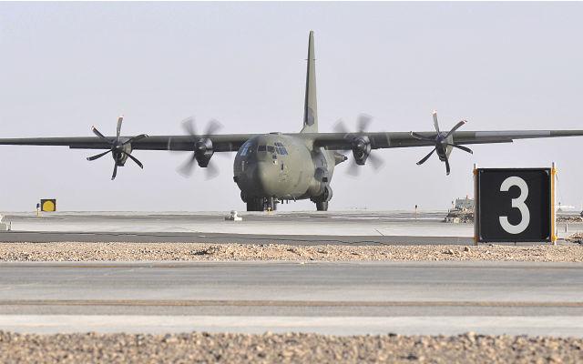 RAF C-130J - Crown Copyright