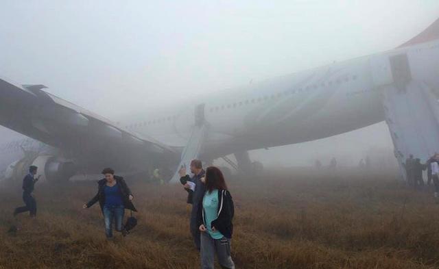 Turkish A330 damaged