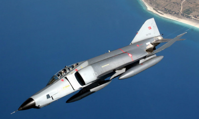 Turkish RF-4E - Turkish air force