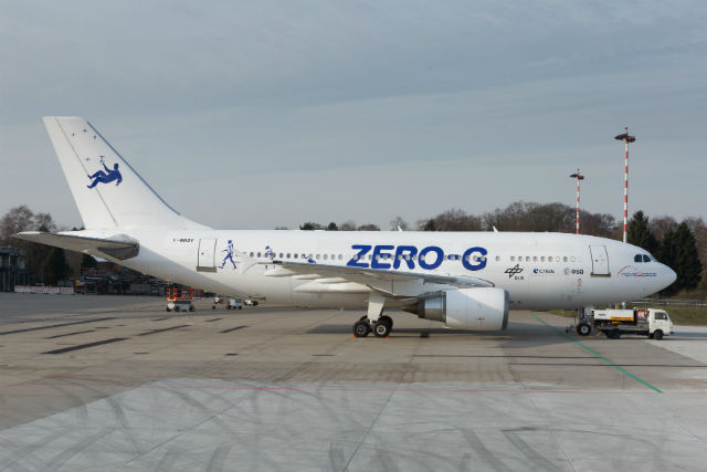 Zero-G A310 c Lufthansa Technik