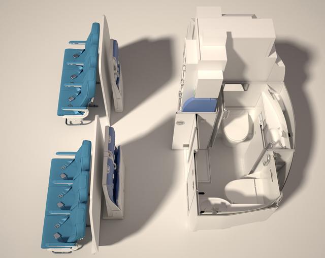 A320 Cabin space-flex