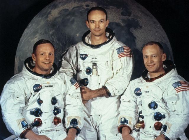 Armstrong Aldrin Collins c Rex