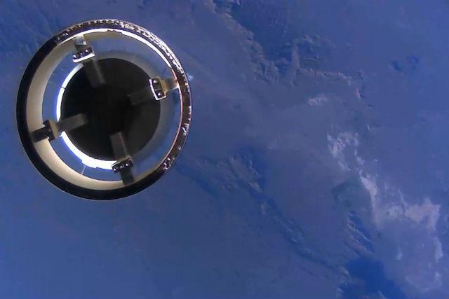 Blue Origin BE-3 separation