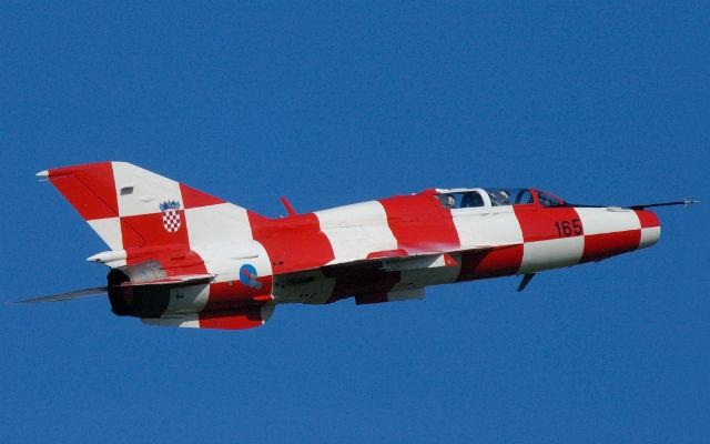 Croatian MiG-21 - Salinger Igor/Aermedia.com