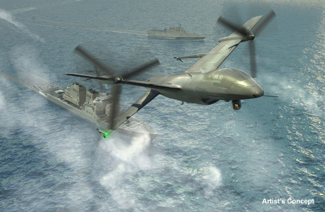 DARPA/ONR Tern programme c DARPA