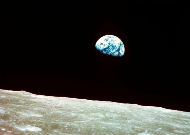 Earth from Apollo 8 c Rex