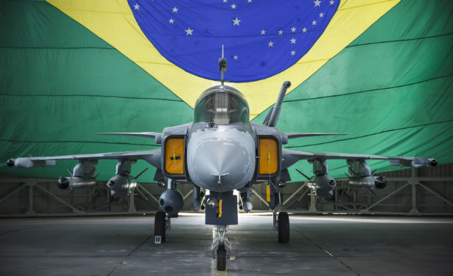 Gripen NG mock-up - Brazilian air force