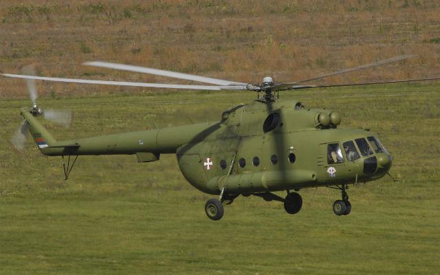 Serbian Mil Mi-17 that crashed - Salinger Igor/Aer