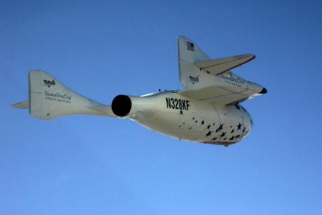 SpaceShipOne c Scaled Composites