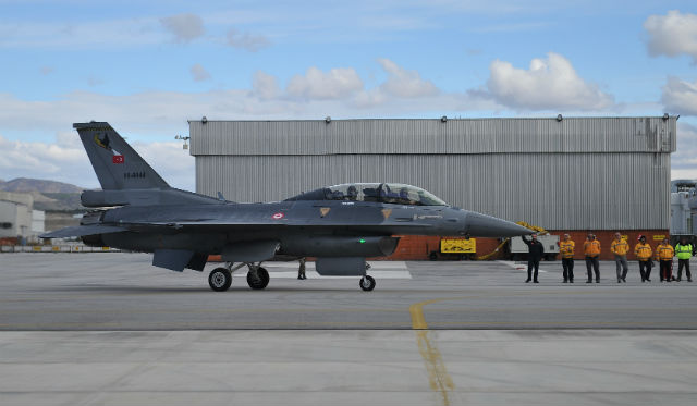 Turkish F-16 - Turkish Aerospace Industries