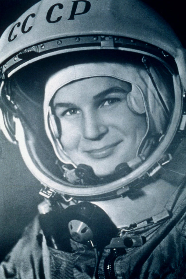 Valentina Tereshkova c Rex