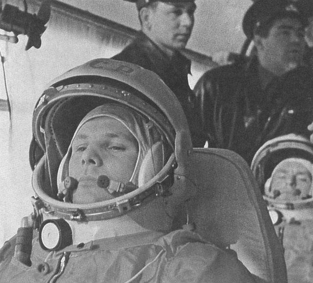 Yuri Gagarin c NASA
