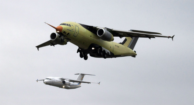 An-178 debut - pay David Cherkasov