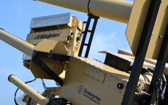 AUDS anti-UAV system - Blighter