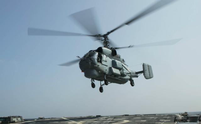 Indian Ka-28 - US Navy