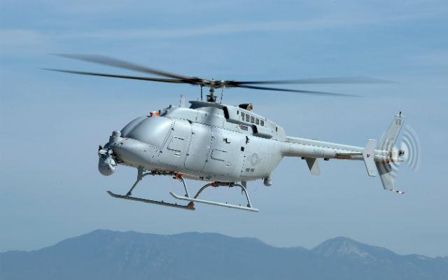 MQ-8C last developmental test - Northrop