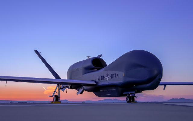 NATO AGS Global Hawk rollout preview - Northrop Gr