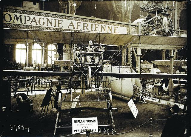 1910 2nd Paris air show c Paris air show