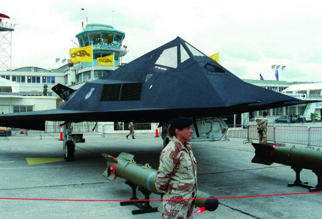 1991 F-117A - Paris Air Show 640