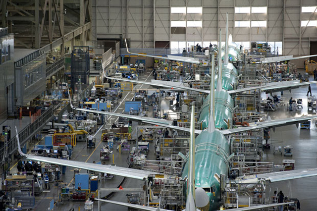 737 Production line