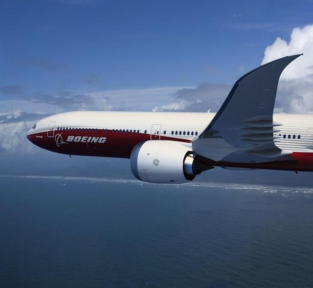 777X forward fuselage