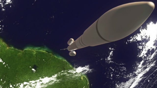Ariane 6 launch with Adeline motor unit cAIRBUS