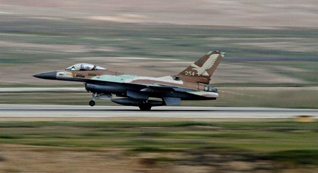 F-16A - Israeli air force