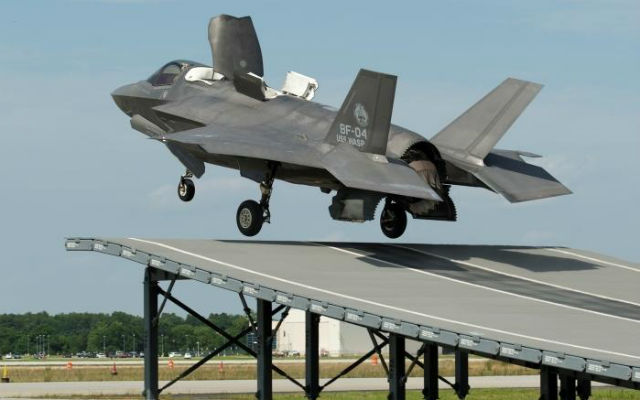 F-35B short take off ground test - Lockheed Martin